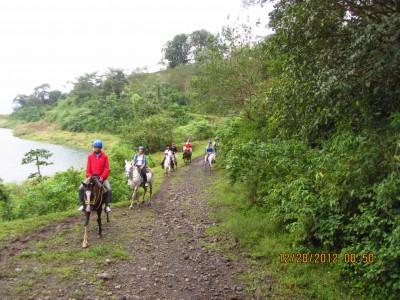 La Fortuna to Monte Verde on Horse-back