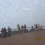Atop Poas Volcano